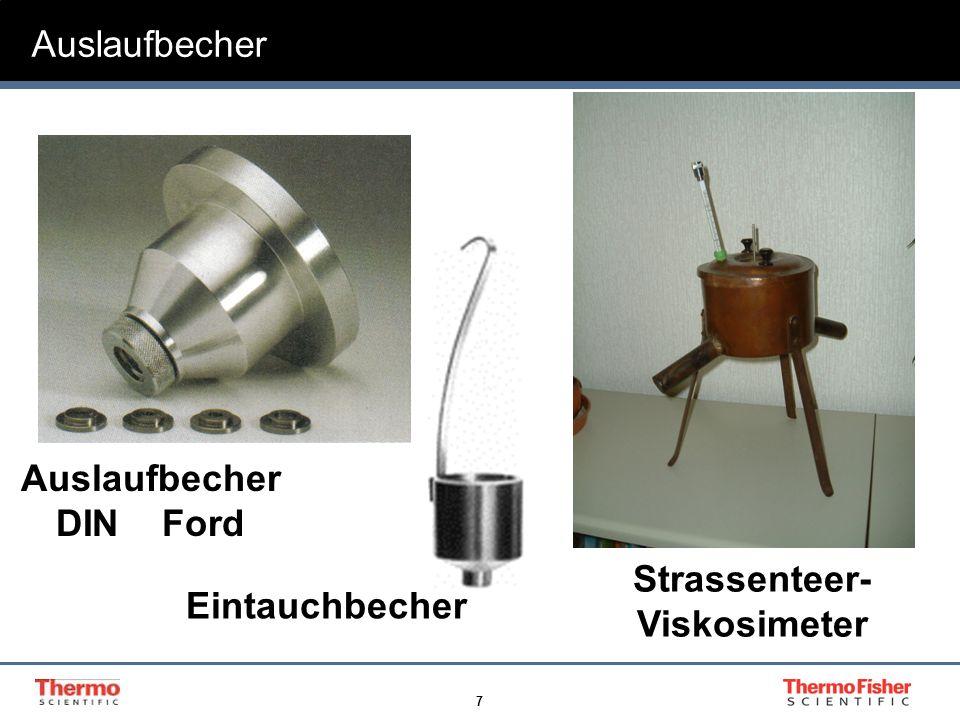 Strassenteer-Viskosimeter