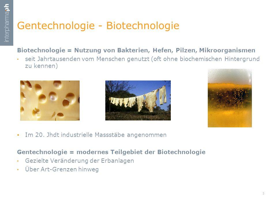 Gentechnologie - Biotechnologie