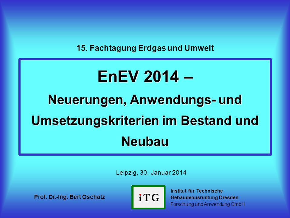 15. Fachtagung Erdgas und Umwelt
