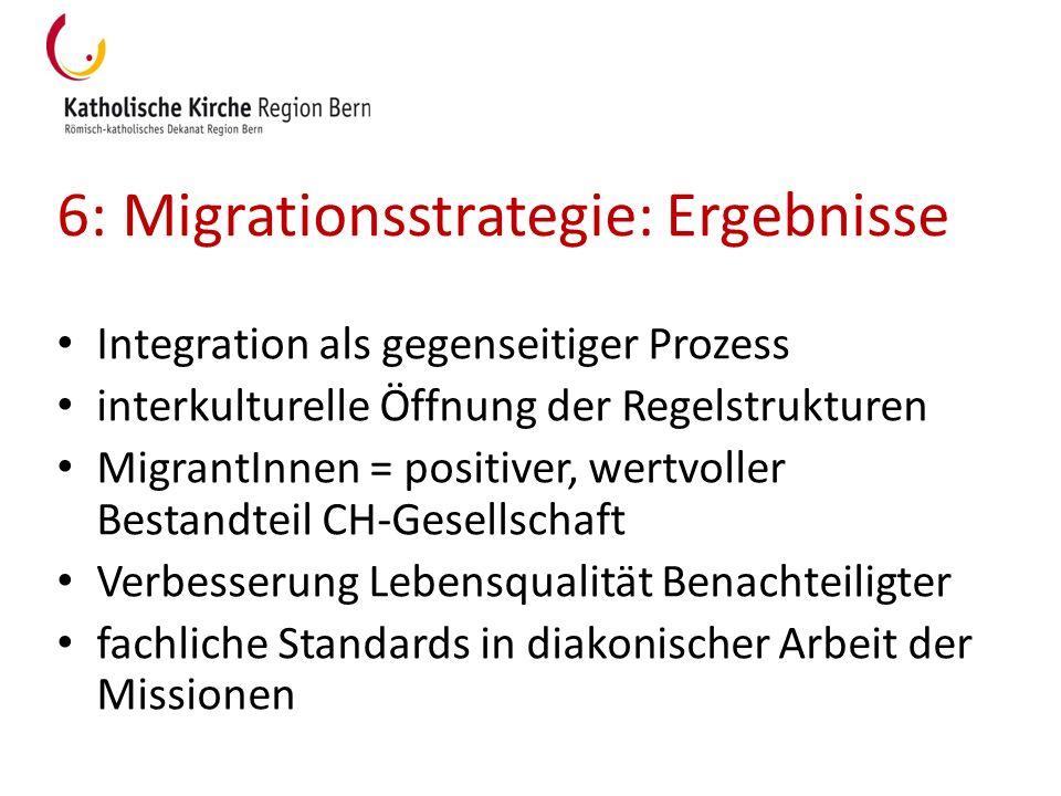6: Migrationsstrategie: Ergebnisse