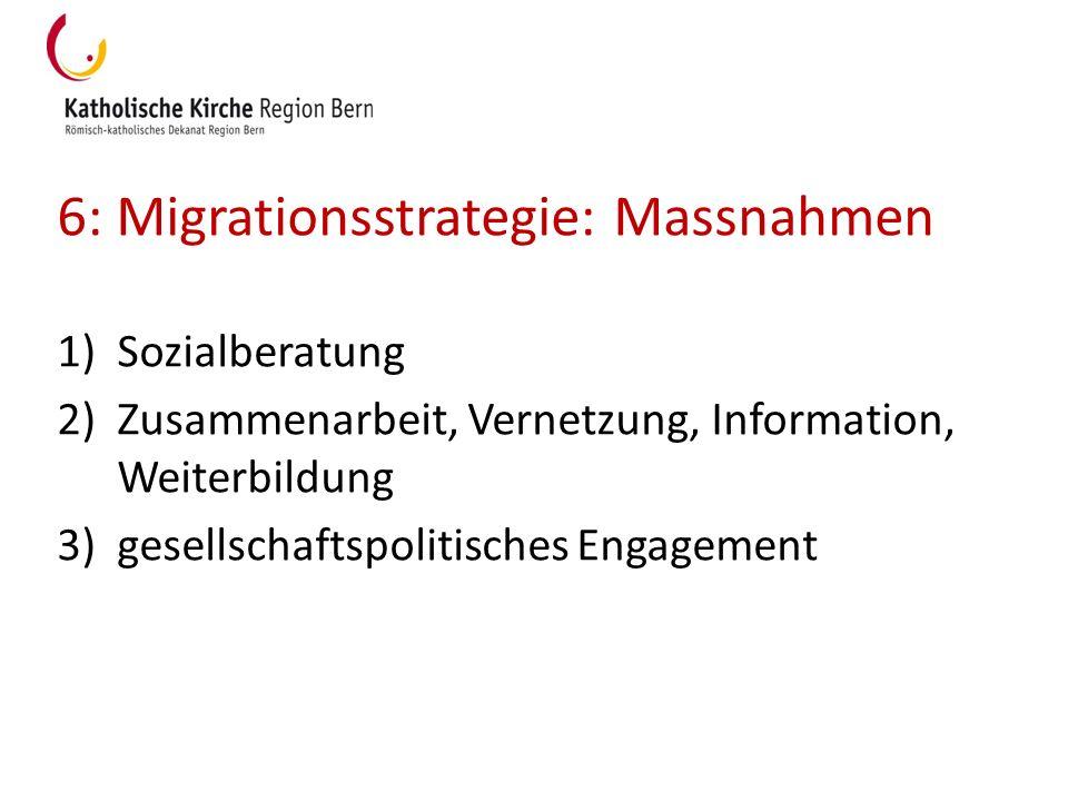 6: Migrationsstrategie: Massnahmen