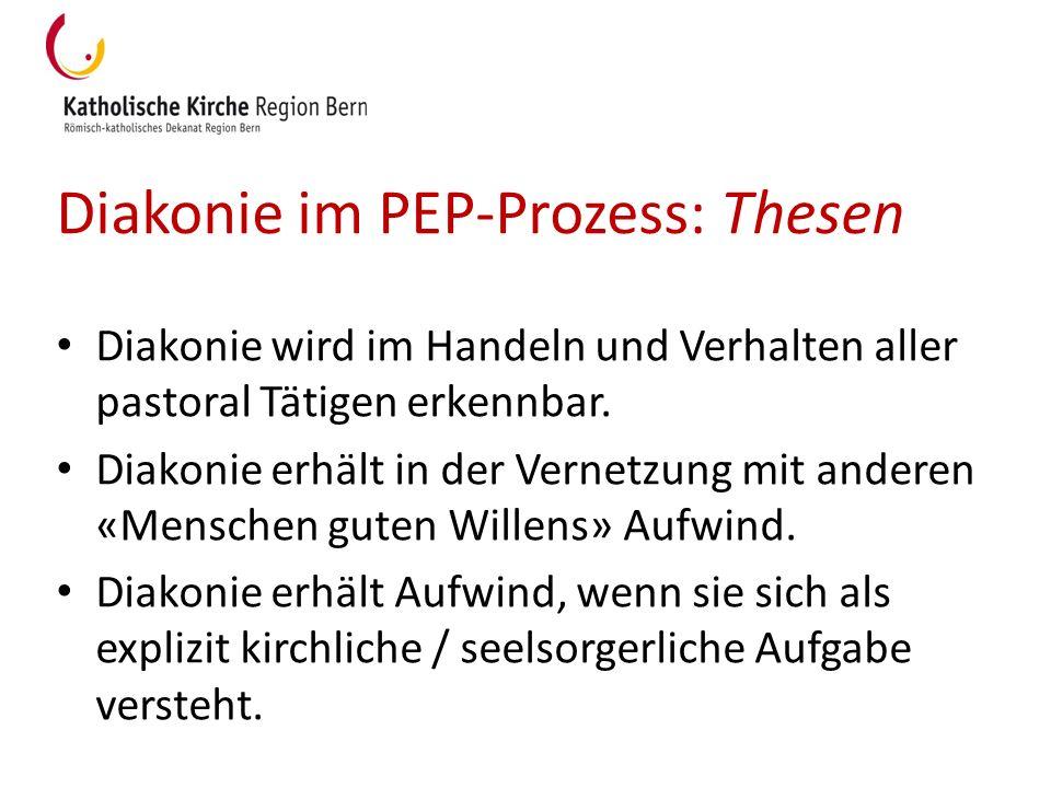 Diakonie im PEP-Prozess: Thesen
