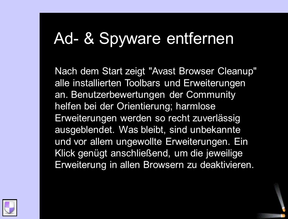 Ad- & Spyware entfernen