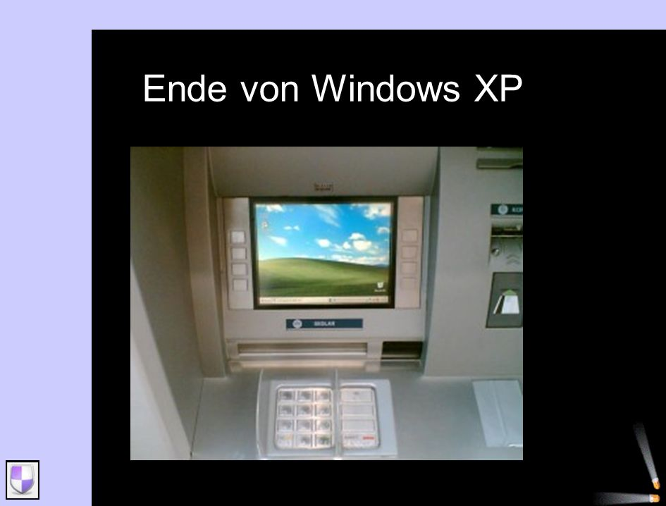 Ende von Windows XP