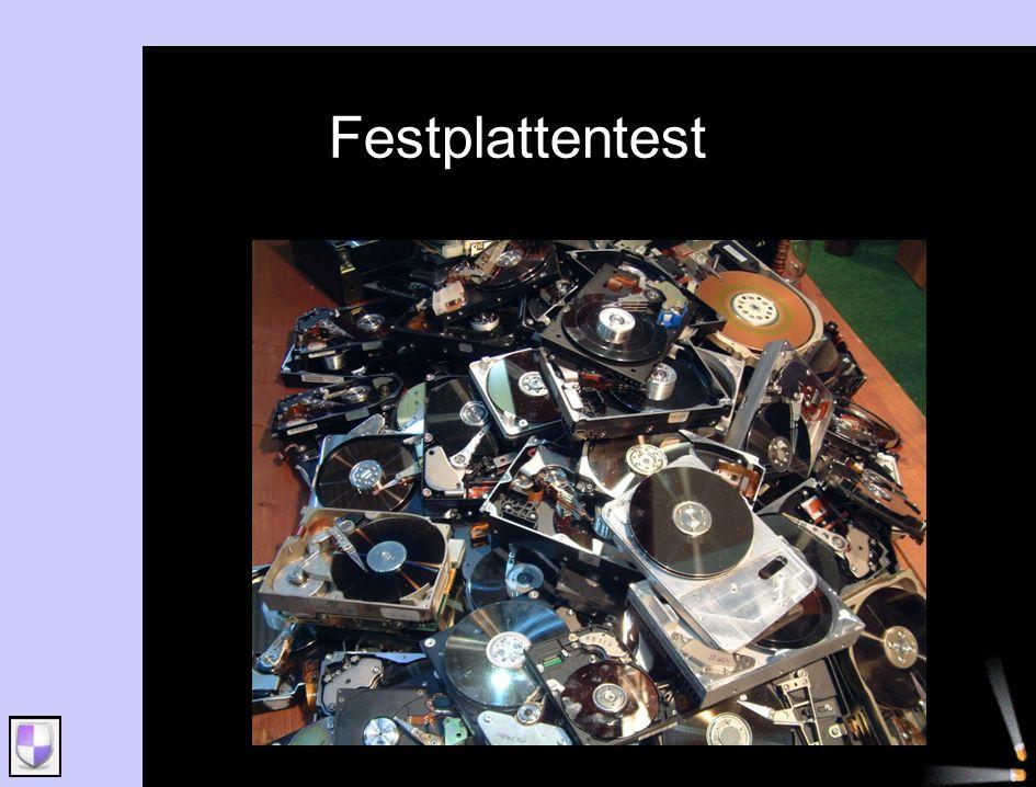 Festplattentest