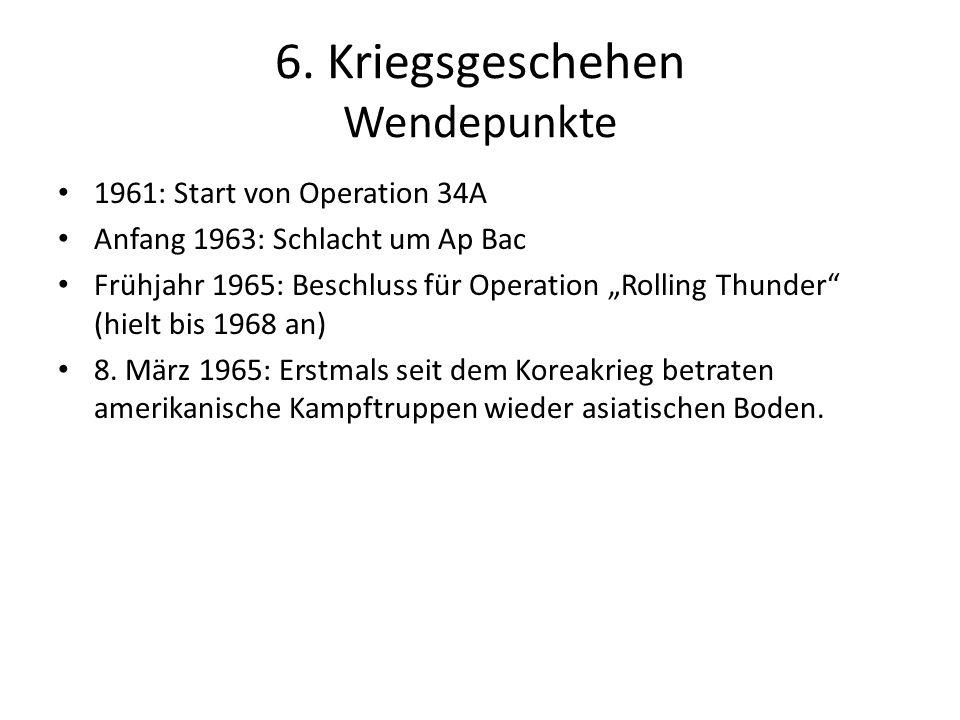 6. Kriegsgeschehen Wendepunkte