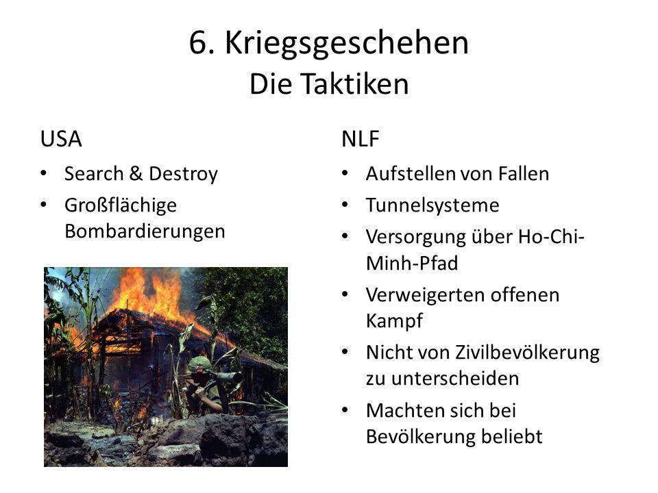 6. Kriegsgeschehen Die Taktiken