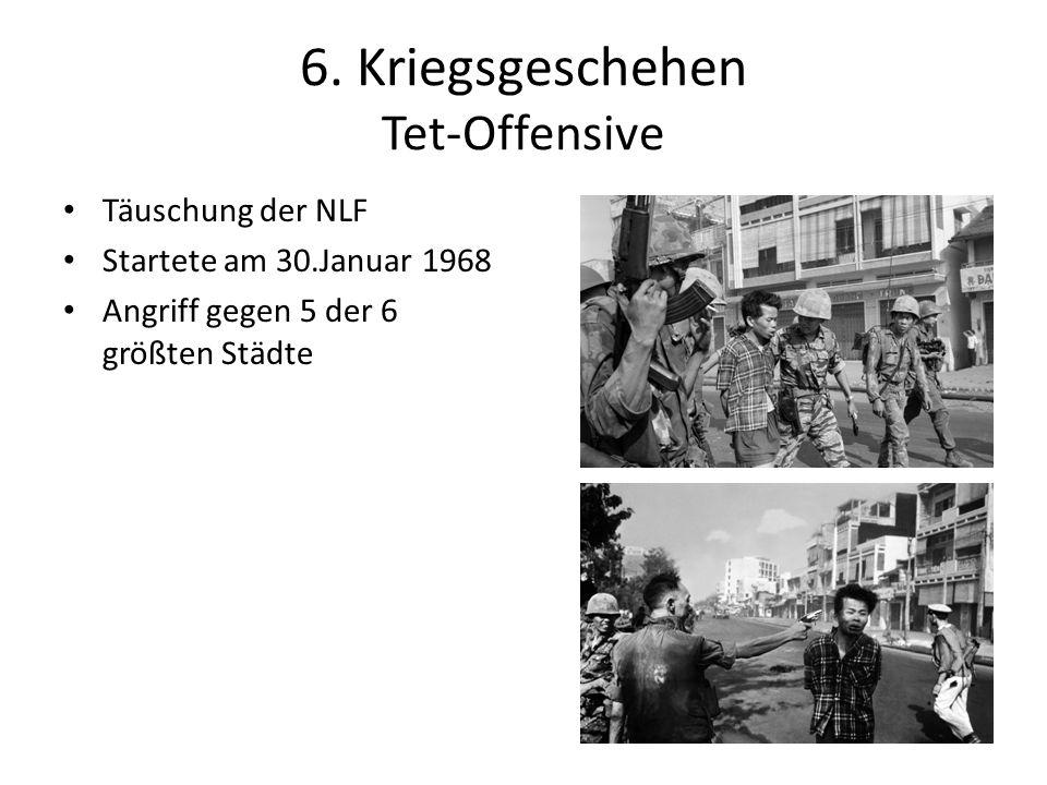 6. Kriegsgeschehen Tet-Offensive
