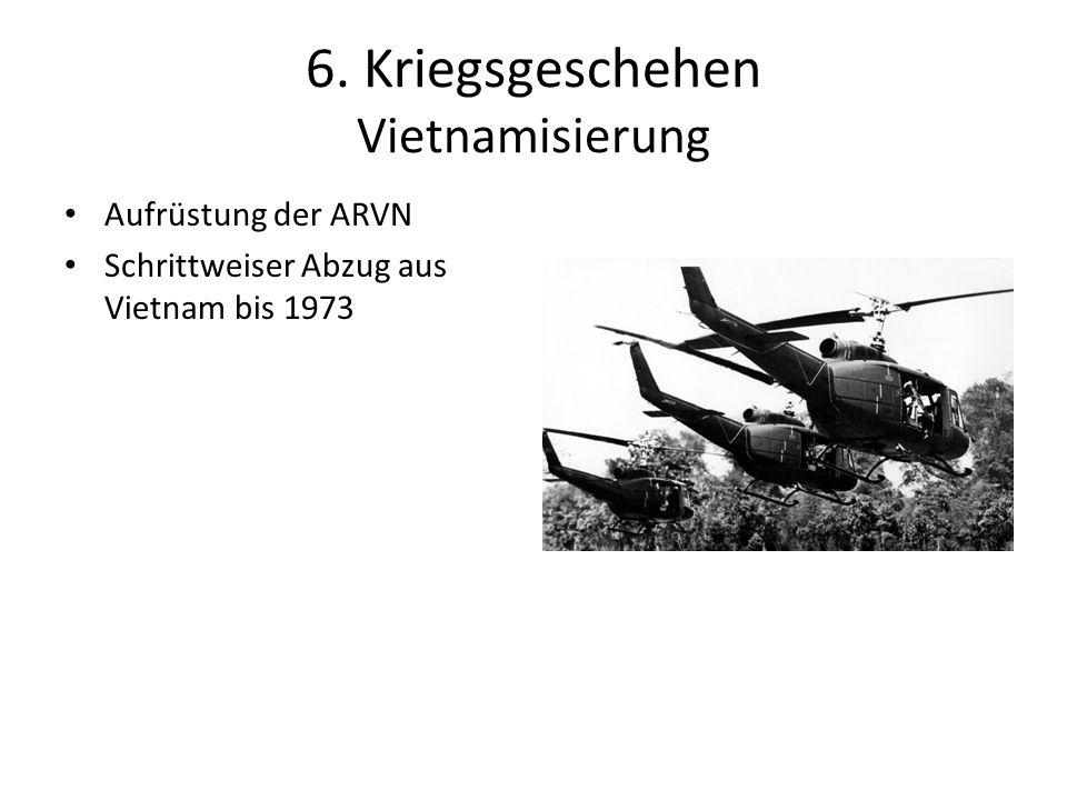 6. Kriegsgeschehen Vietnamisierung