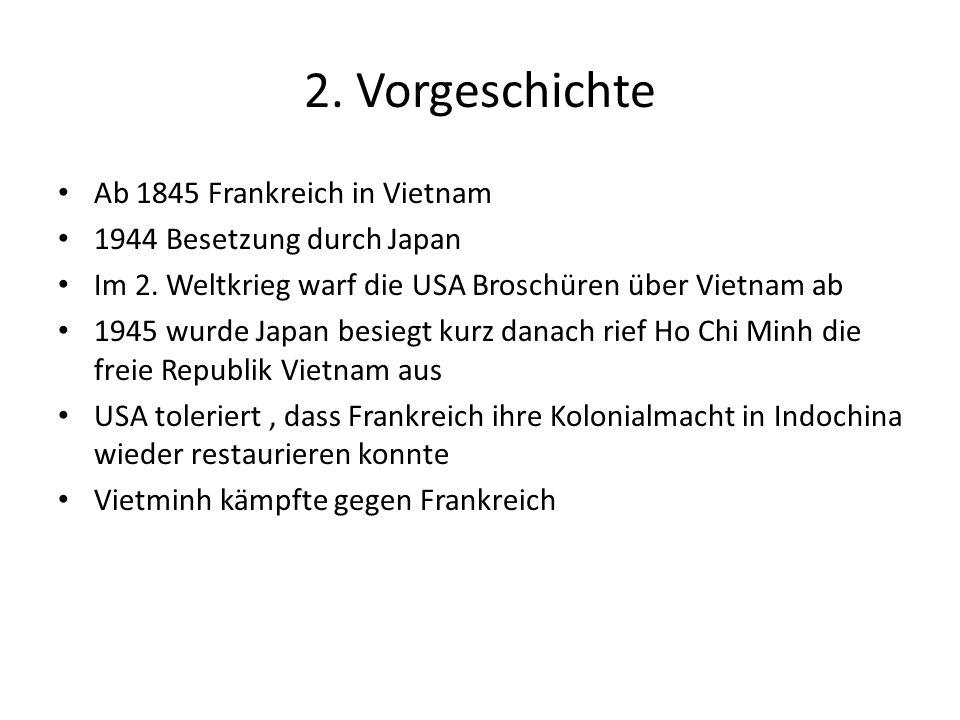 2. Vorgeschichte Ab 1845 Frankreich in Vietnam