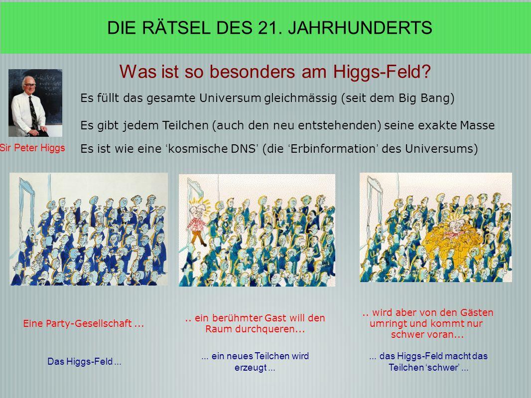Was ist so besonders am Higgs-Feld