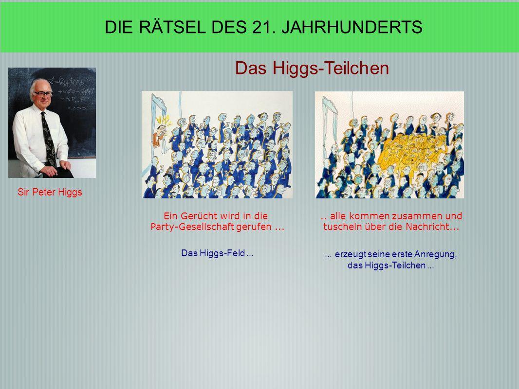Das Higgs-Teilchen DIE RÄTSEL DES 21. JAHRHUNDERTS Sir Peter Higgs