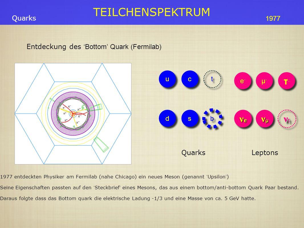 Entdeckung des 'Bottom' Quark (Fermilab)