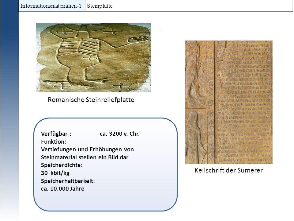 Romanische Steinreliefplatte