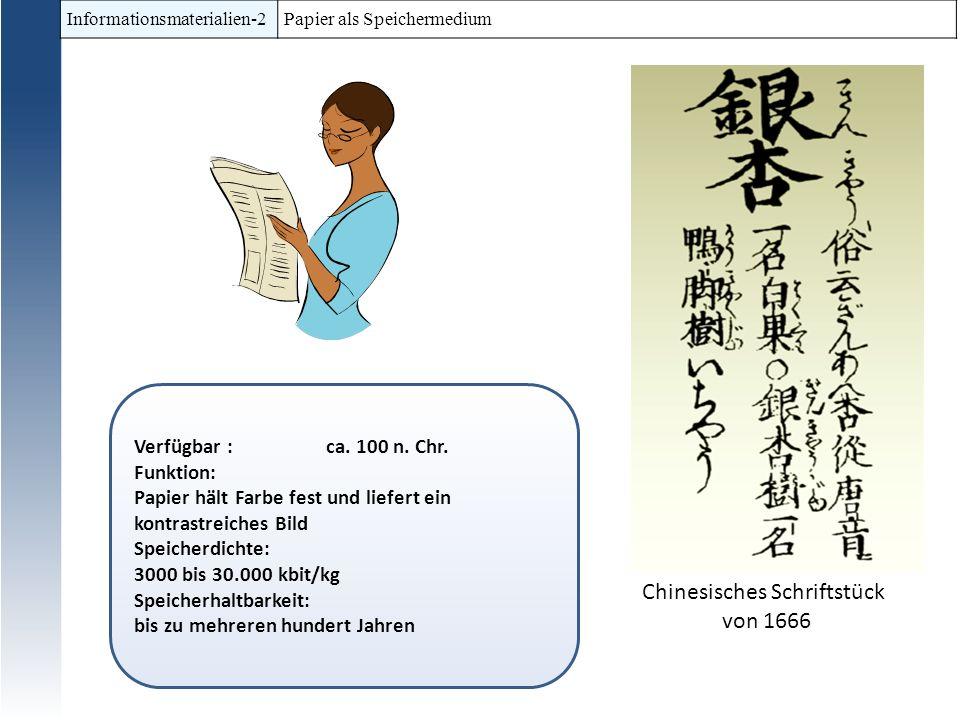 Chinesisches Schriftstück