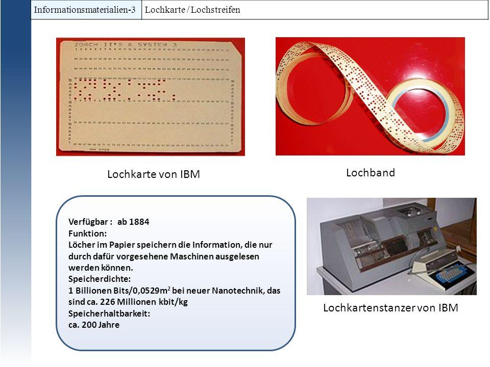 Lochkartenstanzer von IBM
