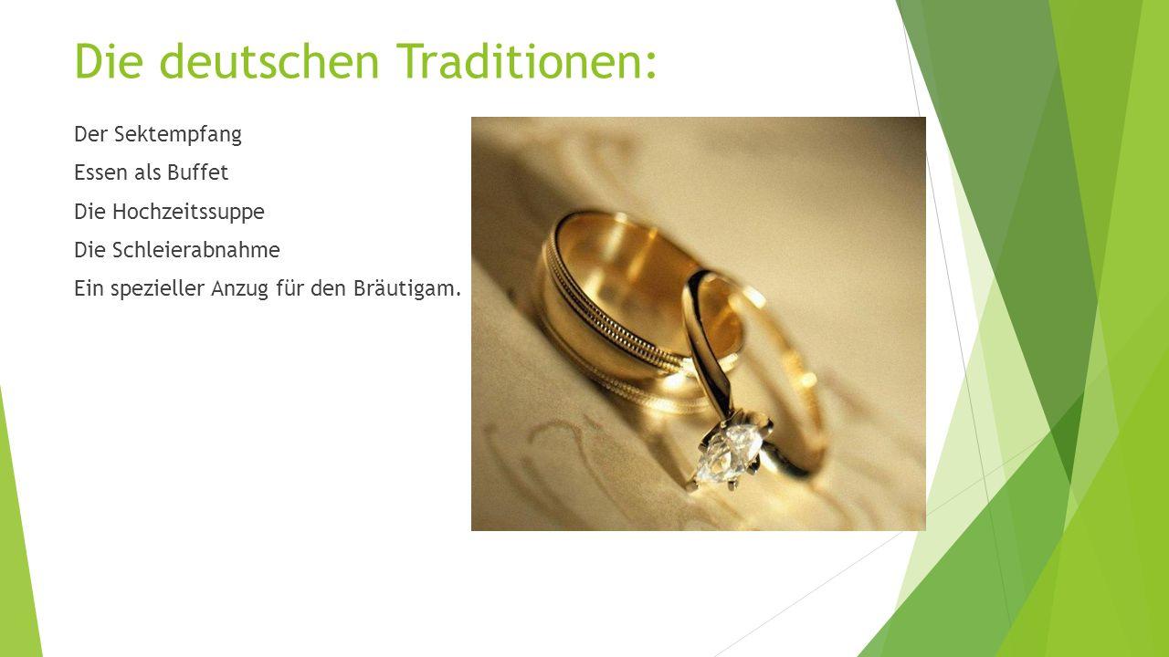 Die deutschen Traditionen: