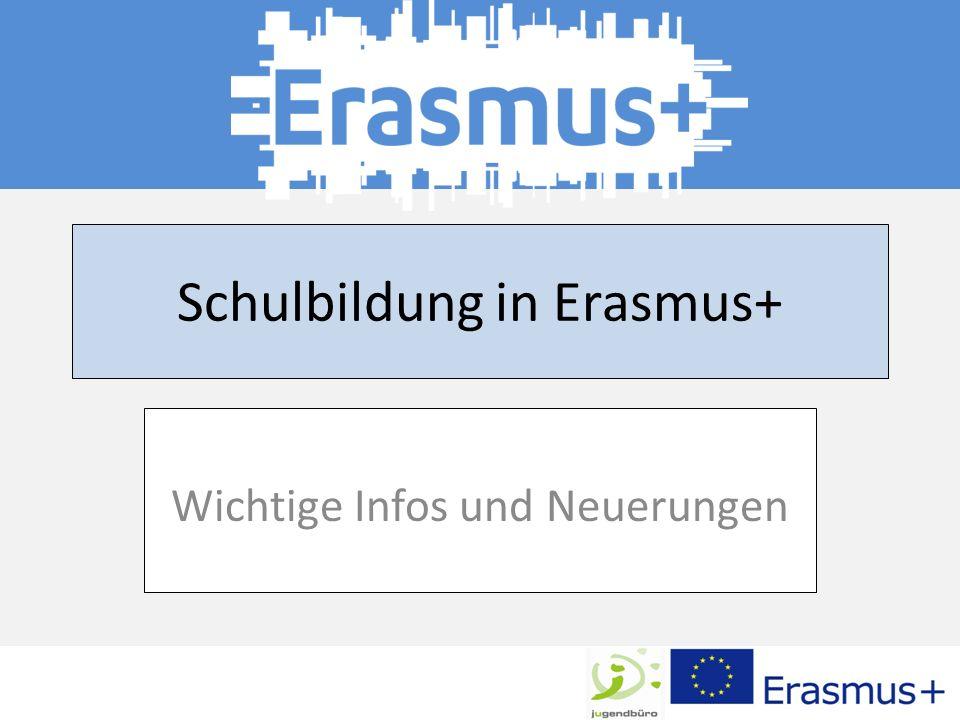 Schulbildung in Erasmus+