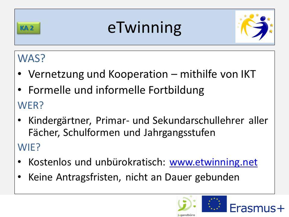eTwinning WAS Vernetzung und Kooperation – mithilfe von IKT