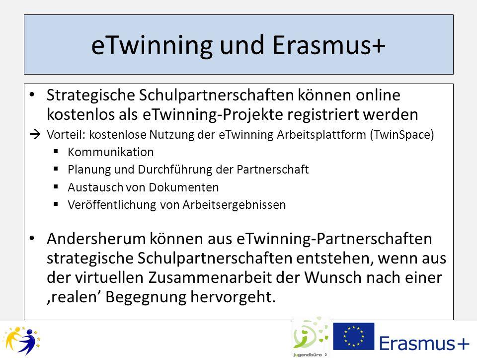 eTwinning und Erasmus+