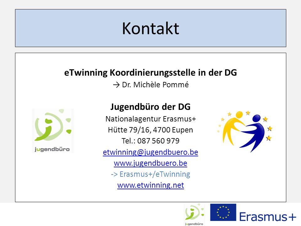 eTwinning Koordinierungsstelle in der DG