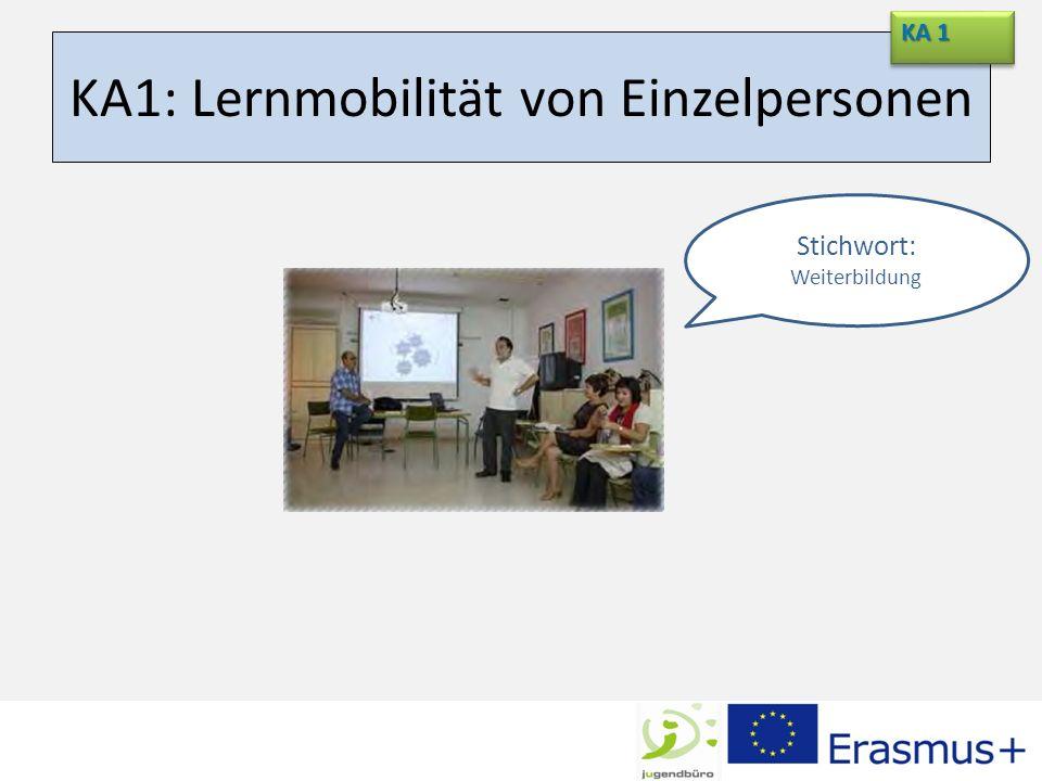 KA1: Lernmobilität von Einzelpersonen