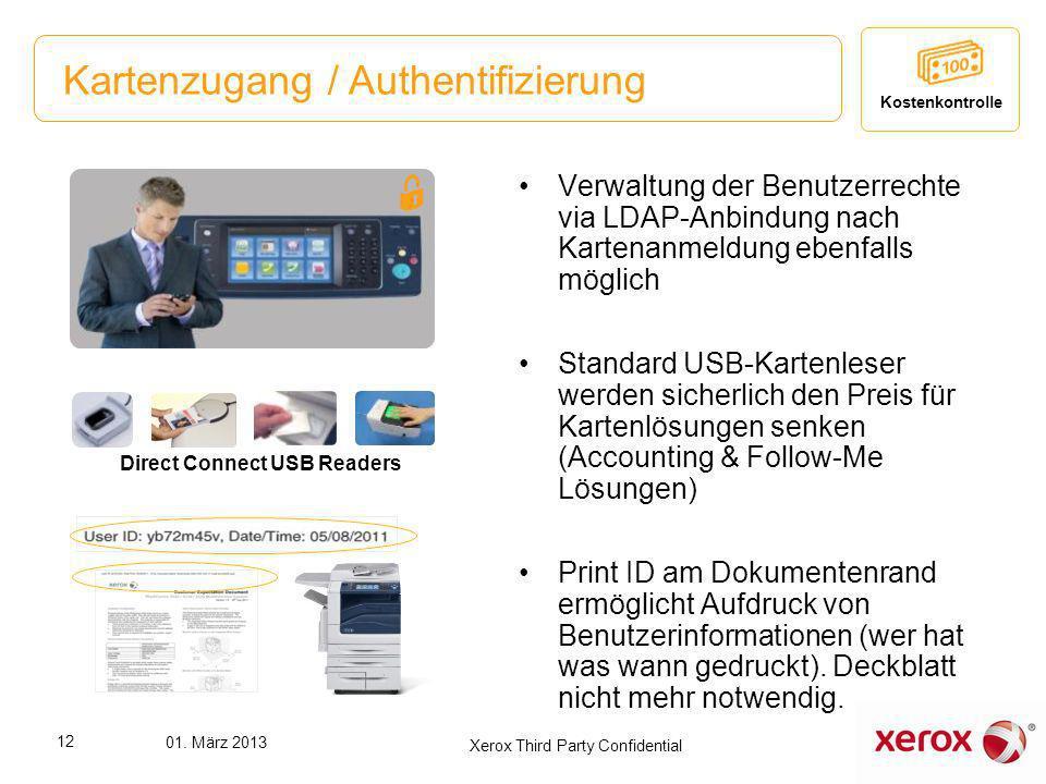 Kartenzugang / Authentifizierung