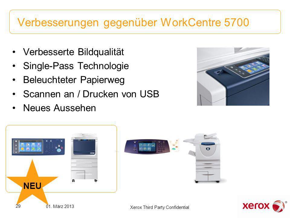 Verbesserungen gegenüber WorkCentre 5700