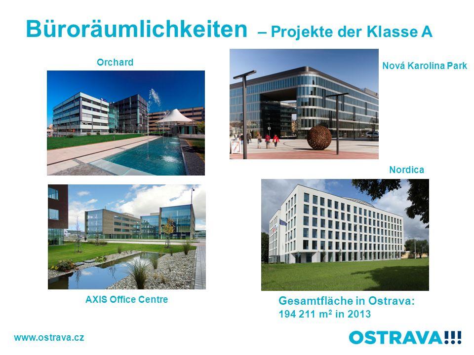Büroräumlichkeiten – Projekte der Klasse A