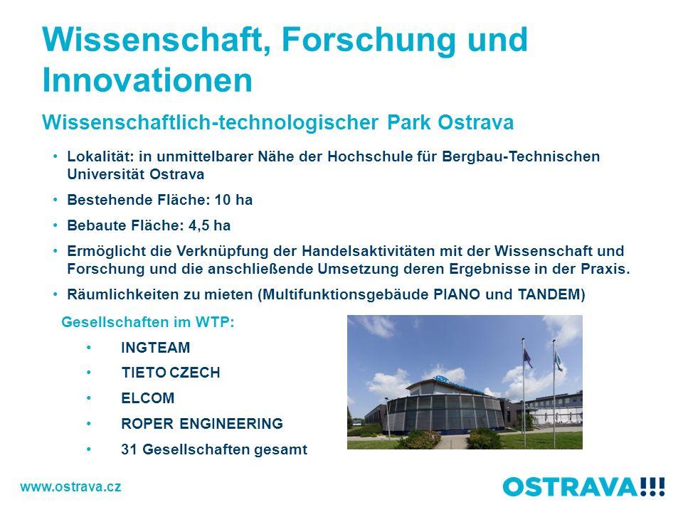 Wissenschaft, Forschung und Innovationen
