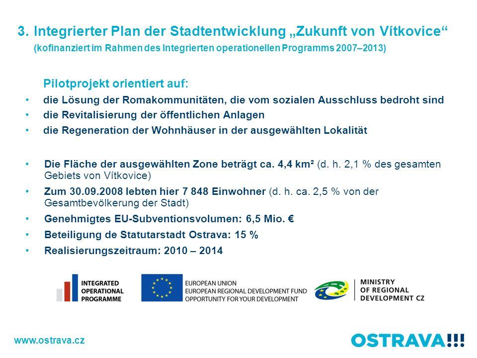"""3. Integrierter Plan der Stadtentwicklung """"Zukunft von Vítkovice"""