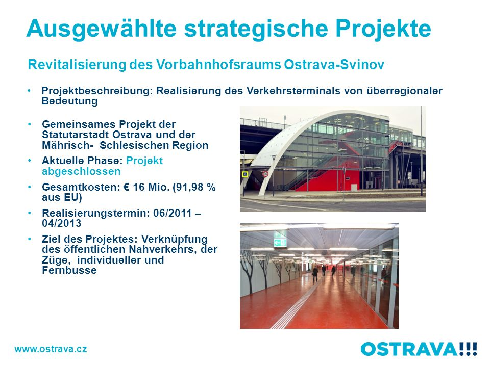 Ausgewählte strategische Projekte