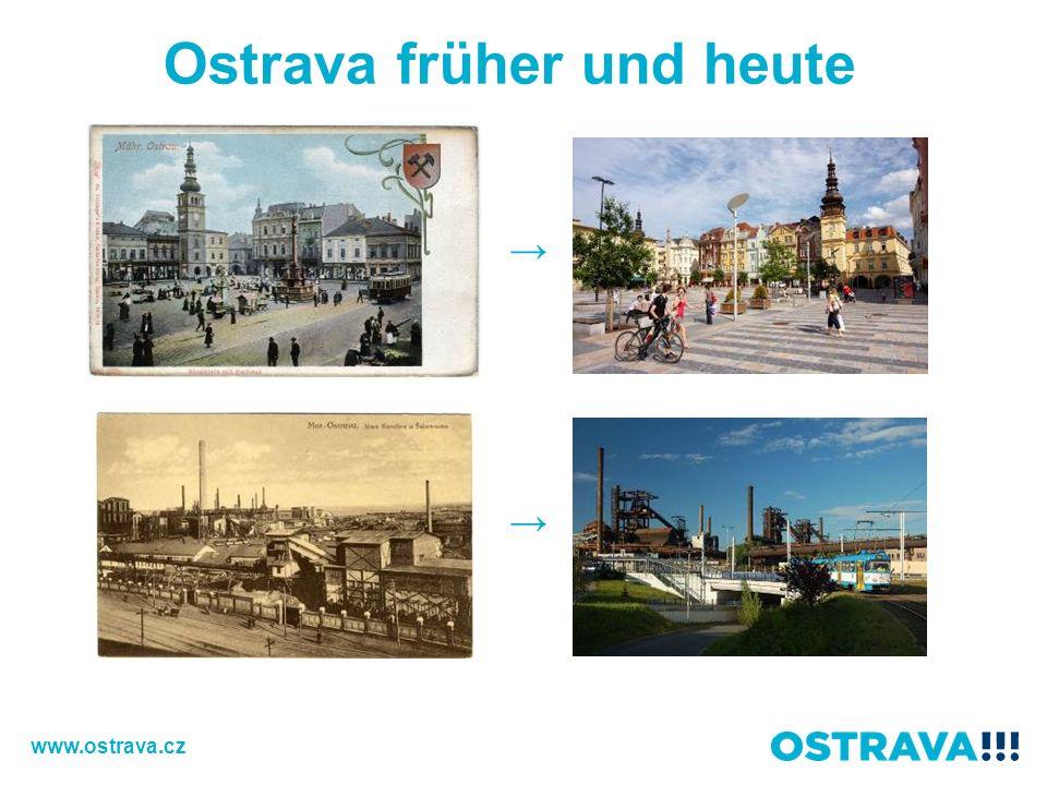 Ostrava früher und heute