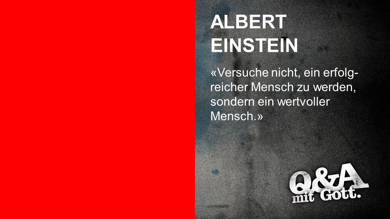 ALBERT EINSTEIN Albert Einstein