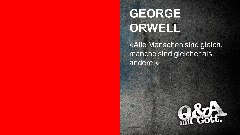 GEORGE ORWELL George Orwell