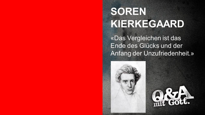 SOREN KIERKEGAARD Soren Kierkegaard