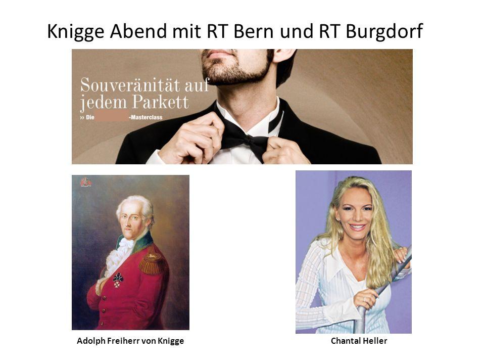 Knigge Abend mit RT Bern und RT Burgdorf