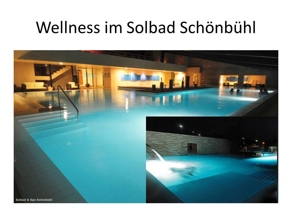 Wellness im Solbad Schönbühl