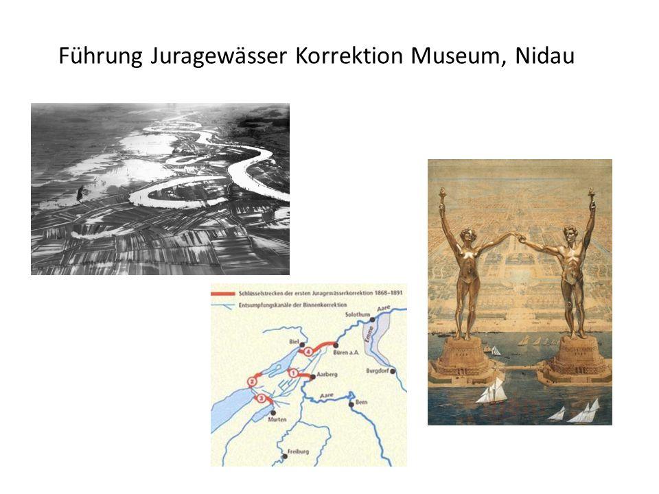 Führung Juragewässer Korrektion Museum, Nidau