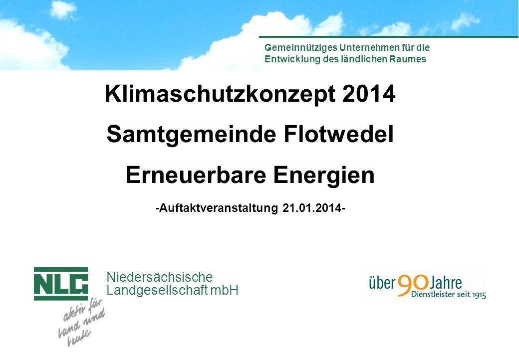 Samtgemeinde Flotwedel -Auftaktveranstaltung 21.01.2014-