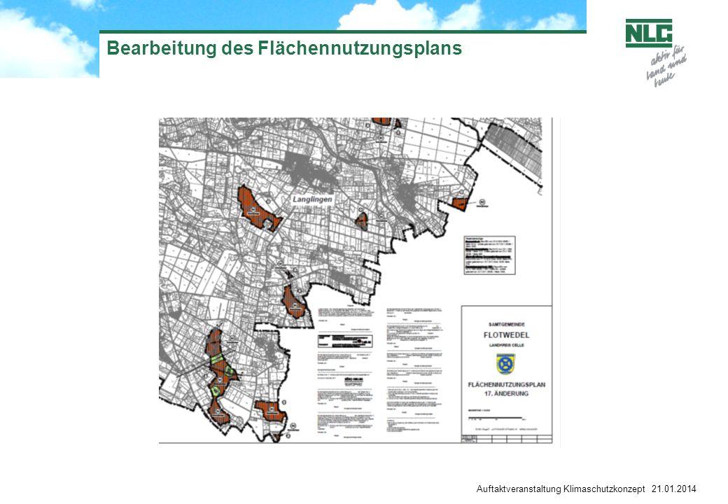 Bearbeitung des Flächennutzungsplans