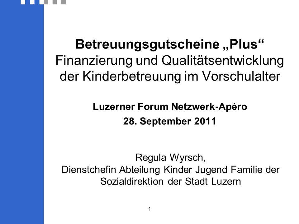 Luzerner Forum Netzwerk-Apéro