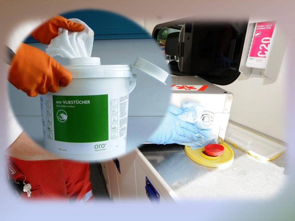 Rettungsdienst Desinfektion 29