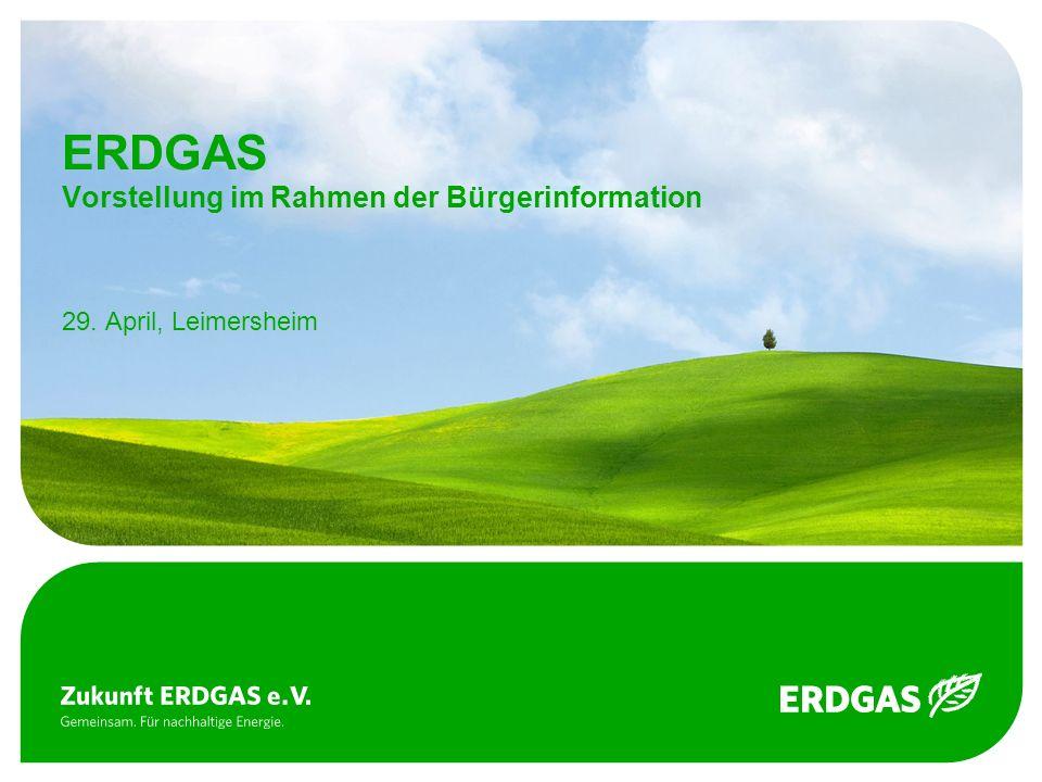 ERDGAS Vorstellung im Rahmen der Bürgerinformation