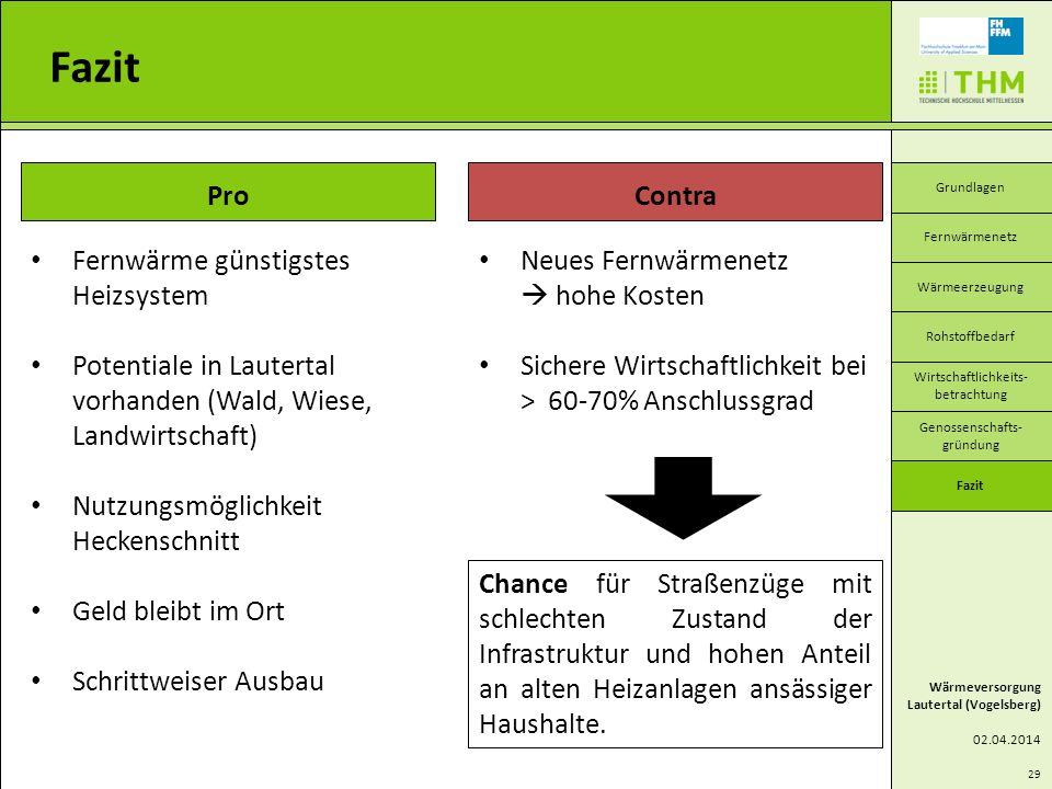 Fazit Pro Contra Fernwärme günstigstes Heizsystem