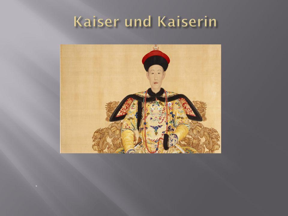 Kaiser und Kaiserin