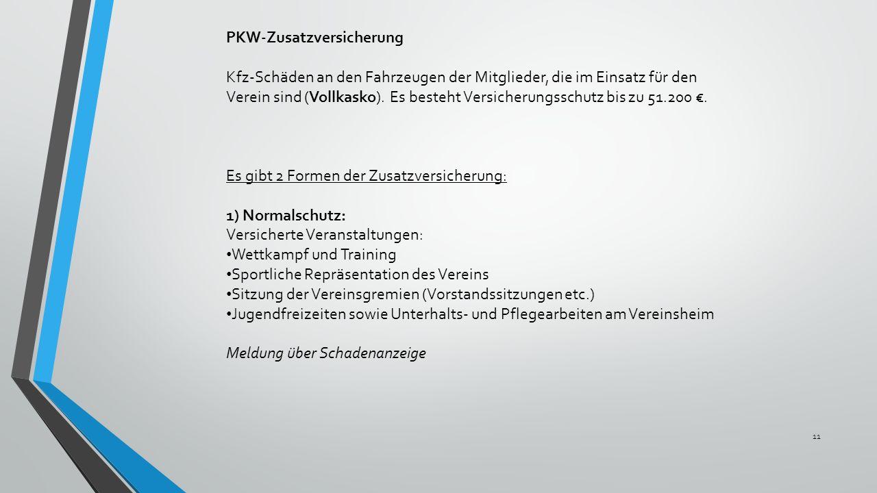 PKW-Zusatzversicherung