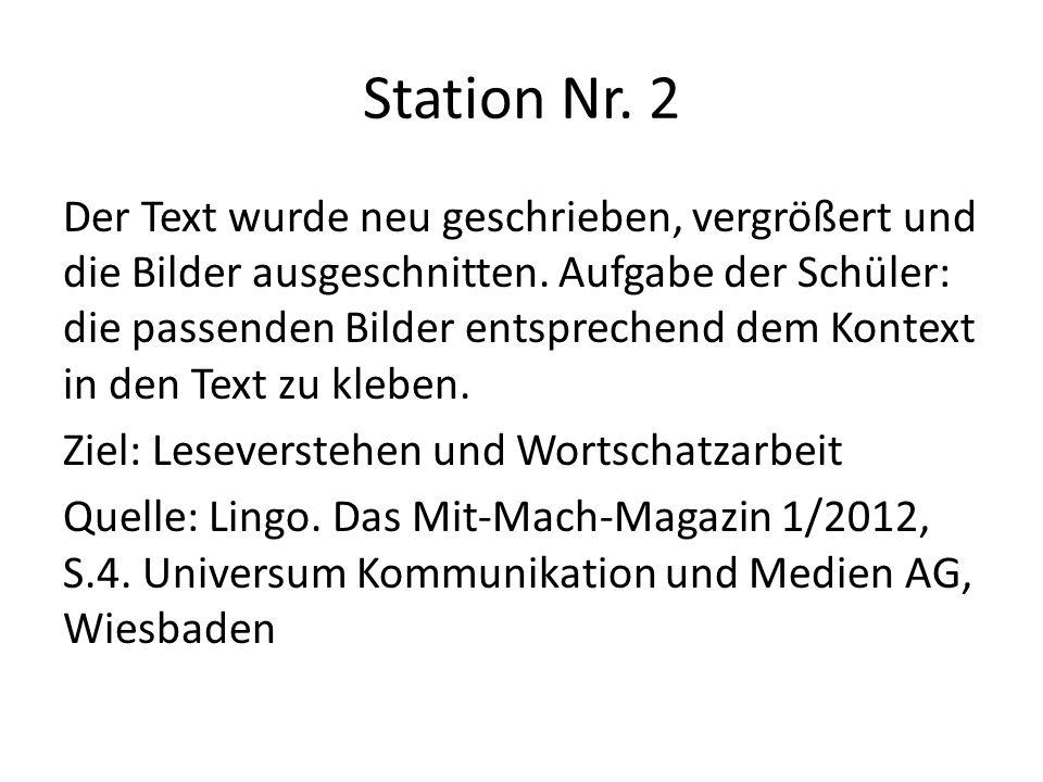 Station Nr. 2