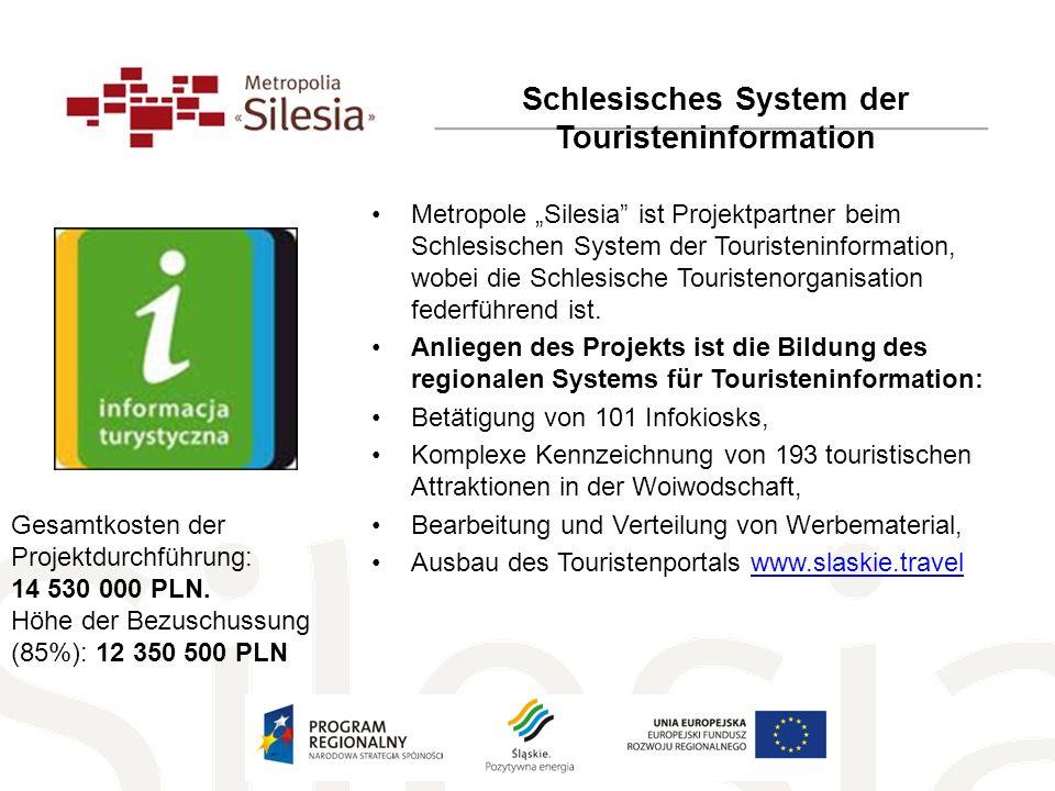 Schlesisches System der Touristeninformation