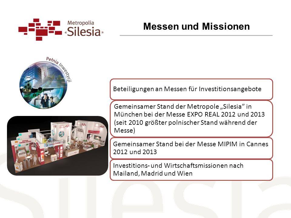 Messen und Missionen Beteiligungen an Messen für Investitionsangebote